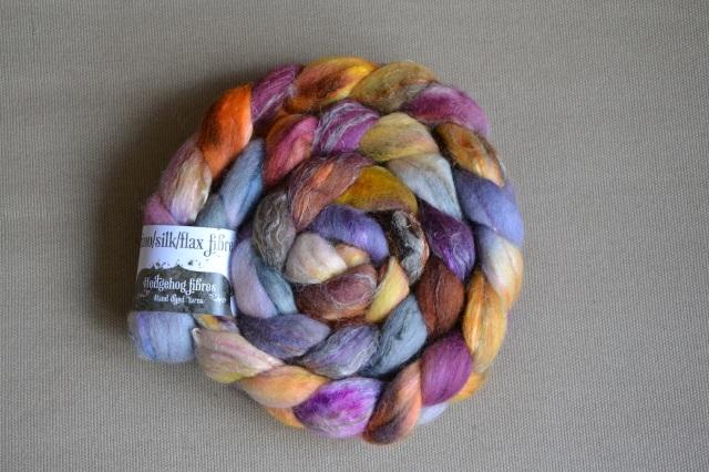 Mélange lin laine et soie