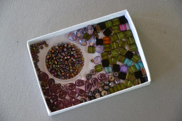 Idées et réserve de perles...