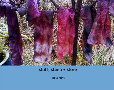stuff, steep + store India Flint