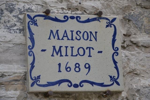 Maison Milot 1689